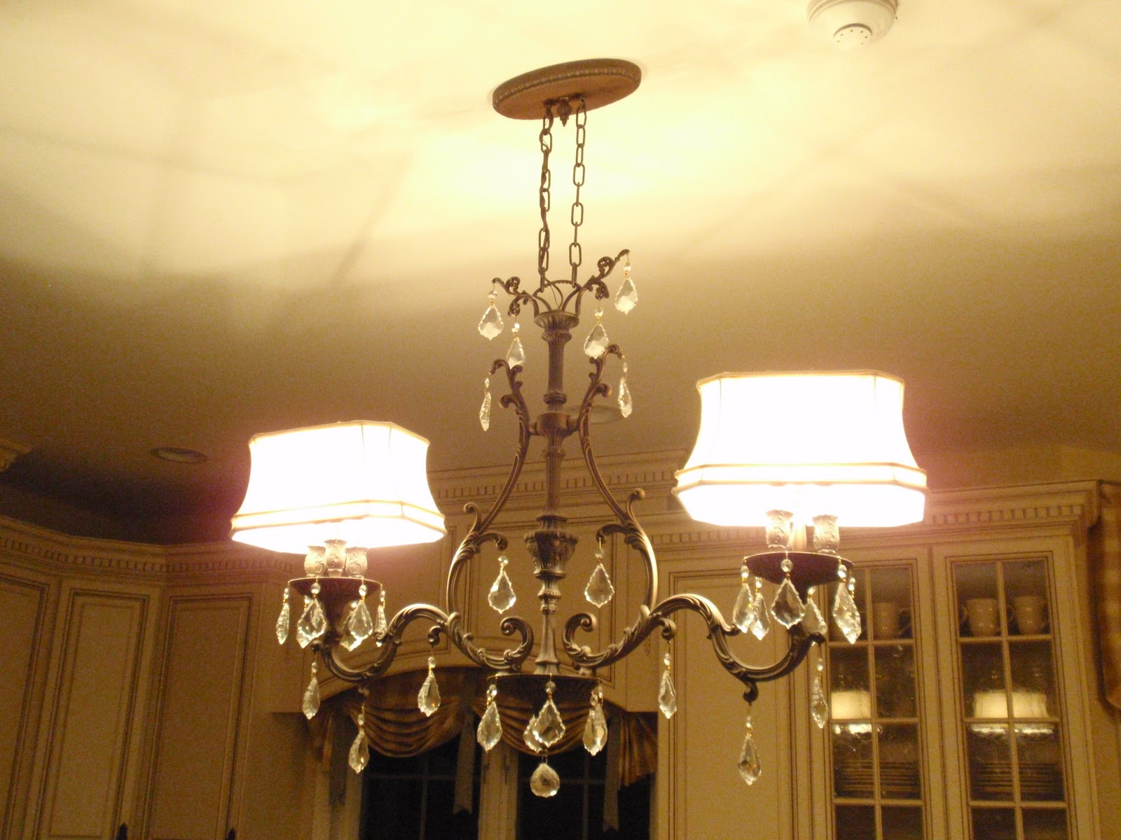 is my powder room chandelier the perfect lighting for that room