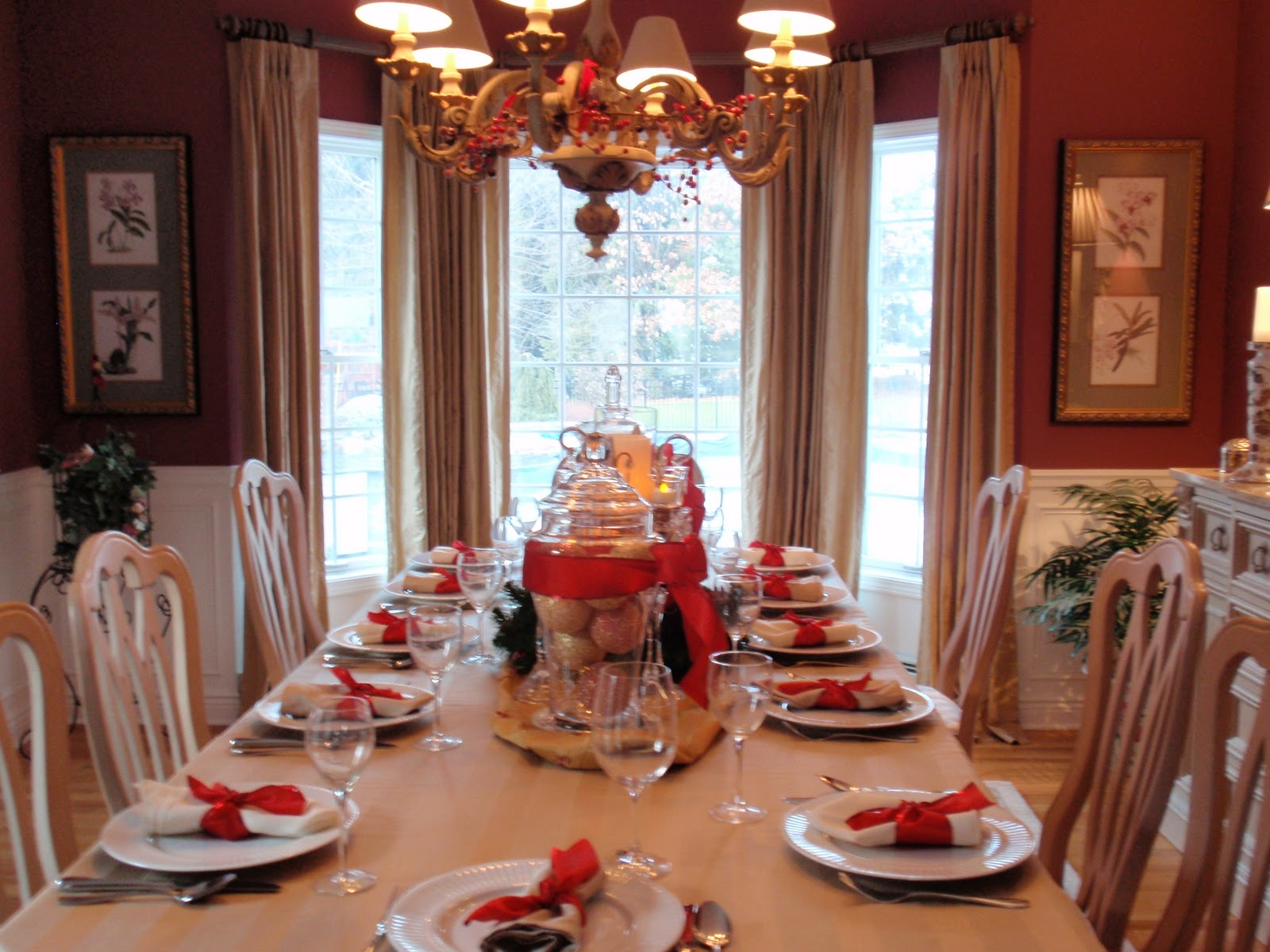 Christmas Dining Room Diy By Design Christmas Dining Room