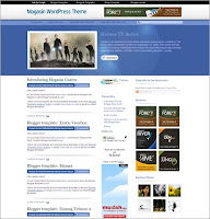 Magasin Cuatro New Magazine Style Blogger Template