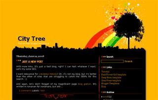 Blogger Templates : City Tree