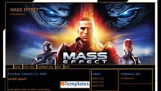 Free Blogger Template Mass Effect