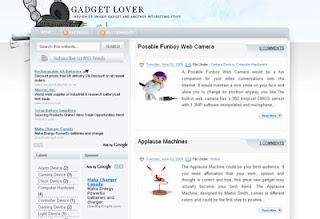 Simpleweb20 Blogger Template