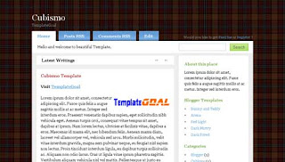 Blogger Template Cubismo