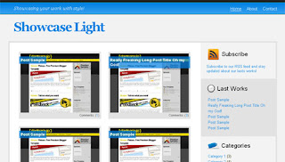 Showcase Light - Free Premium Template