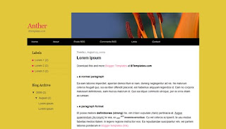 Anther Blogger Template