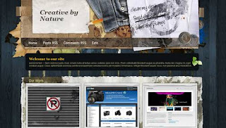 Creative by Nature Blogger Template