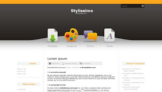 Stylissimo Blogger Template