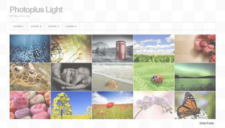 Photoplus Light Blogger Template