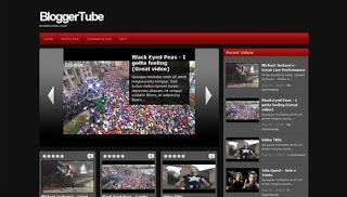 BloggerTube First Video Blogger Template