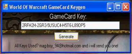Вов генератор ключей wow keygen скачать wow dra.