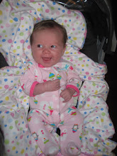 Caitlin at 1 month