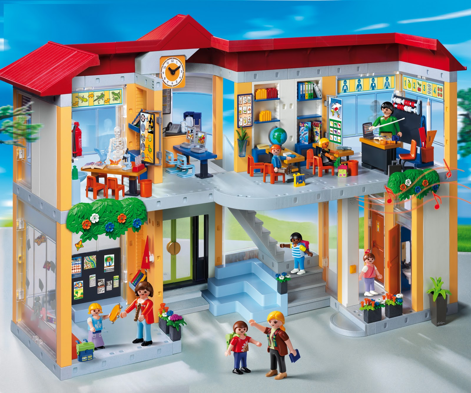 The grandma chronicles playmobil sets make holiday gifts - Construire une maison playmobil ...