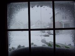 Winter through my window