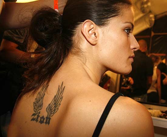 tattoos Isabeli Fontana
