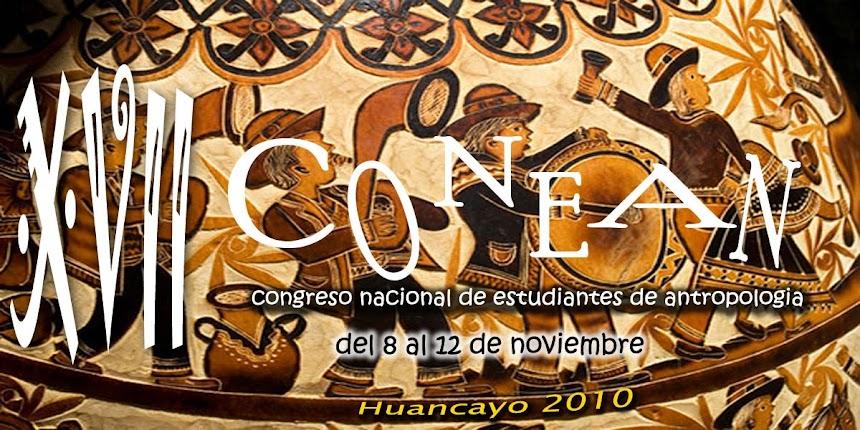 XVII CONEAN HUANCAYO 2010