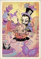 Alice - Ilustração de Camille Rose Garcia