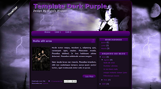 Template Dark Purple