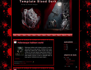 Template Blood Dark