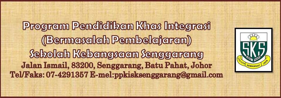 Program Pendidikan Khas Integrasi SK Senggarang