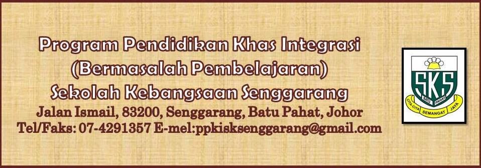 Program Pendidikan Khas Integrasi SK Senggarang