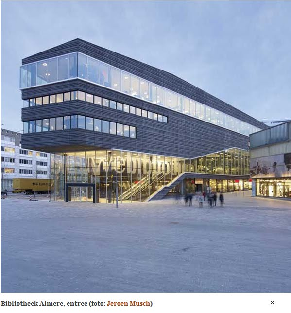 architettura olandese biblioteca di almere by meyer and