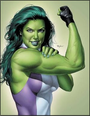 300px She hulk 004 The Truth behind the Fear of Women Getting Bulky!