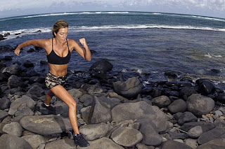 picturesofpeople running ocean Cardio To Lose Belly Fat VIDEO