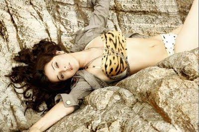 Nisha Kothari Bikini Photoshoot