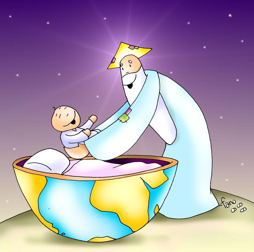 el mundo de los dios: