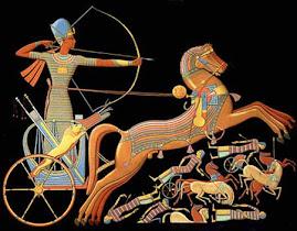 Ramses II combatiendo