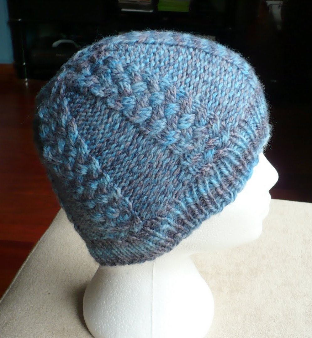 Knitting Patterns For Hats Using Circular Needles : Stitched Together: Downloads