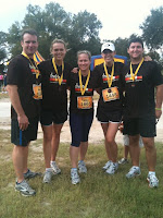 The Ream Team at the Chosen Marathon