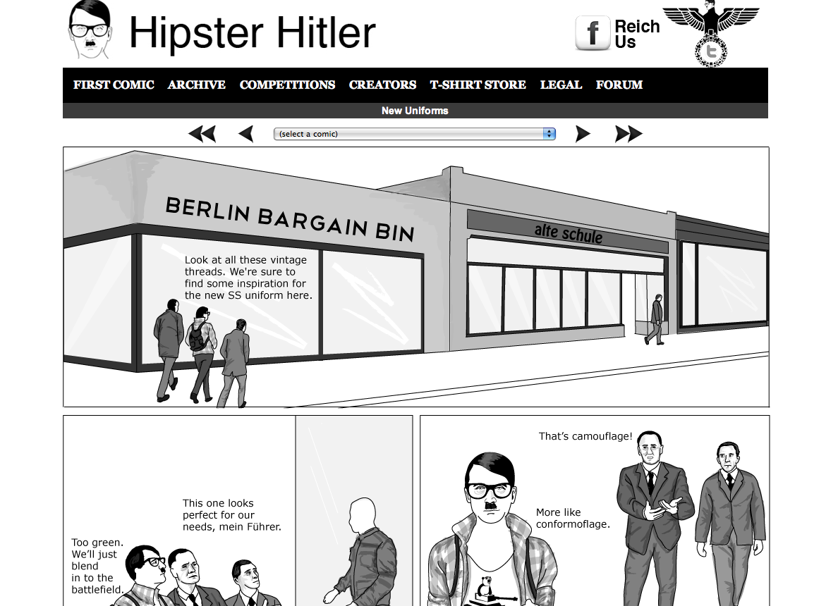 hipster hitler visits the - photo #44