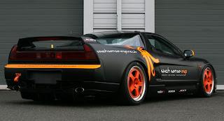 new honda nsx racer