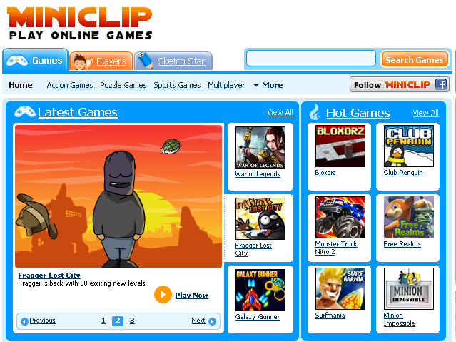 Miniclip Free Games For Kids
