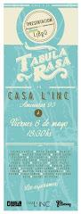 Presentación Tabula Rasa - Libro de Comics