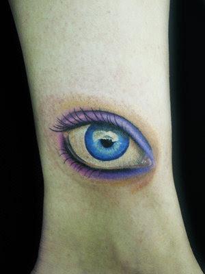 eye tattoo. hot Eye Tattoo Design by ~fayde on eye tattoo. Are they real eye tattoo