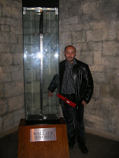 Mr Mostafa and Wallace sword