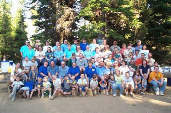 Wilcox Family Reunion 2001