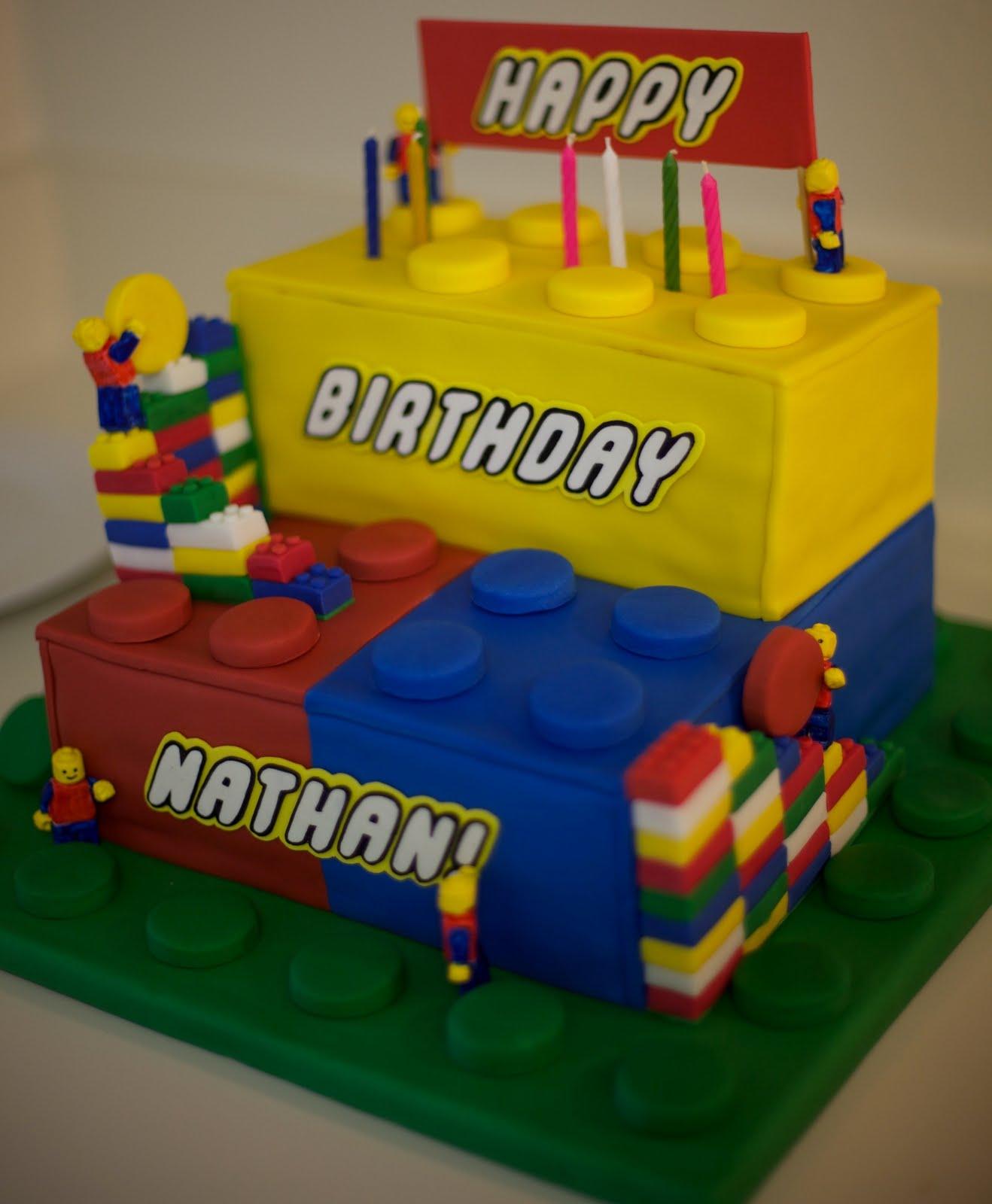 J And J Eat Their Way Around The World Nathans Birthday Cake San