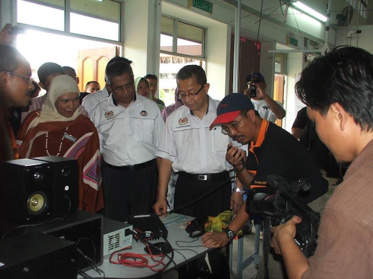 Lawatan Timbalan Ketua Setiausaha Kementerian Pelajaran Malaysia