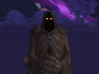 Statue in Outland