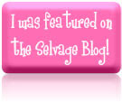 I was featured on the Selvage Blog!
