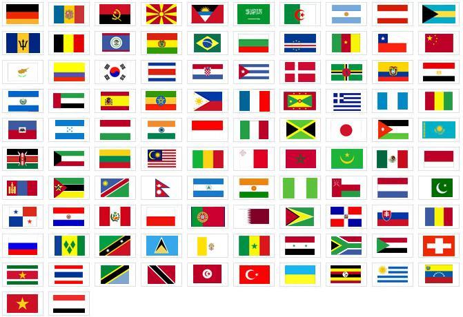 Imágenes con banderas del mundo | VozBol Blog