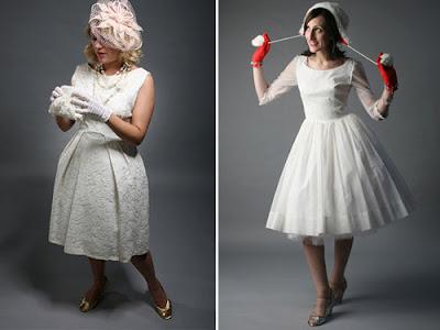1950s Vintage Wedding Dresses on Vintage Wedding Inspiration