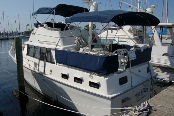On December 7th we found a boat (Mainship 40 Double Cabin Motor Yacht) that ...