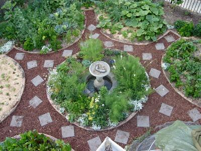 Modus vivendi jardin parcours pr cis mandala for Jardin mandala