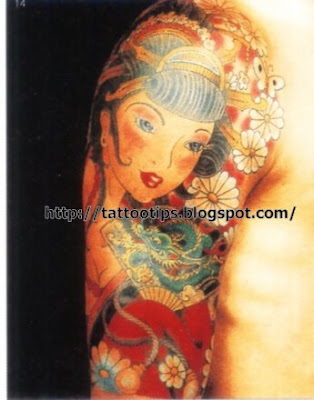 Pinup girl tattoos have a pretty long history in the field of tattoos.