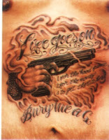 Weapon Tattoo Gallery