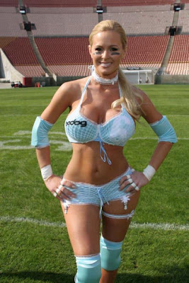 sexy lingerie football league models